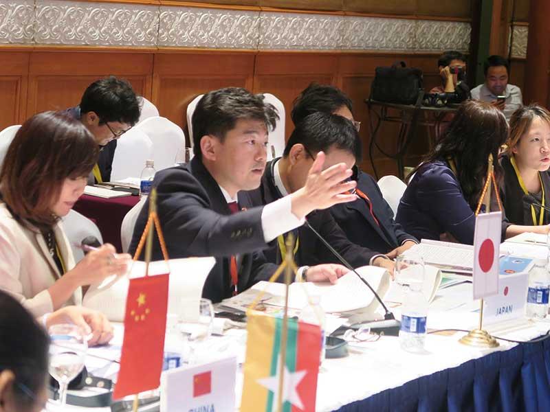 ASEAN+3にて