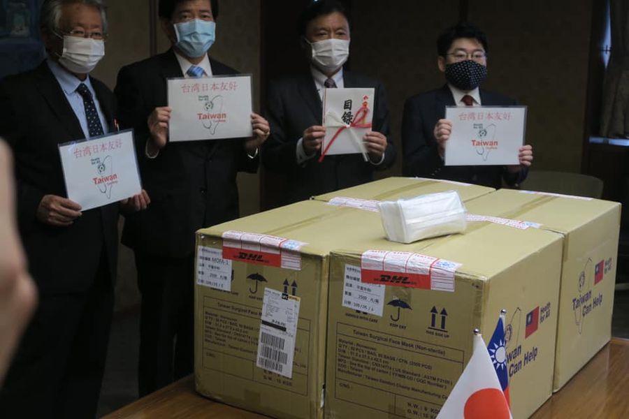 おにき誠(衆議院議員 福岡二区) 台湾 医療物資 寄付