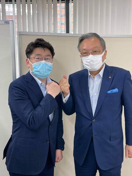 おにき誠(衆議院議員 福岡第2区)と西日本シティ銀行 谷川会長