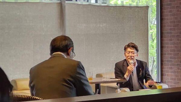 おにき誠 福岡ペン倶楽部主催 福岡第2区オンライン討論会で討論