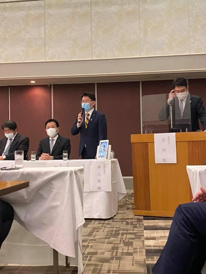 午後からは、福岡県知事選の自民党選挙対策会議